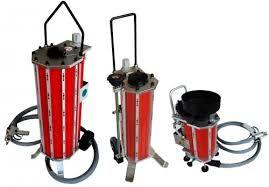 Máquinas de Decapagem IBIX via seca, húmida e duas vias
