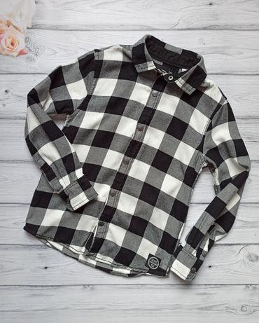 Стильная рубашка c&a для мальчика на рост 134-140 см