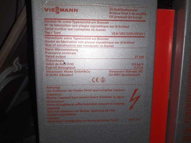 Kocioł na olej opałowy lub gaz Viessman 27kw