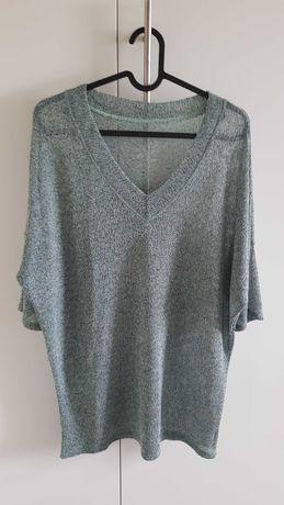 Miętowy sweterek rozmiar uniwersalny