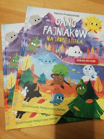 Książka Gang Fajniaków na tropie Stefka cz. 3 Biedronka