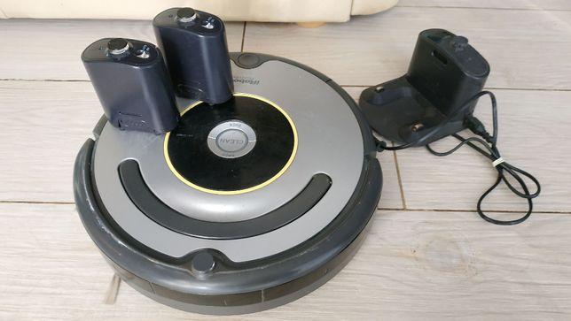 Odkurzacz Roomba seria 6.31 + 2 bramki i stacja