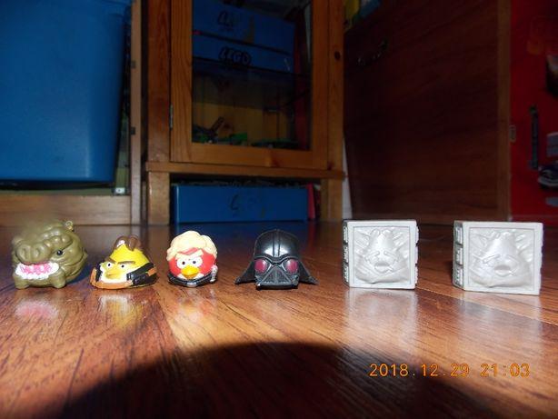 Angry Birds figurki nakładki na ołówki 6szt.