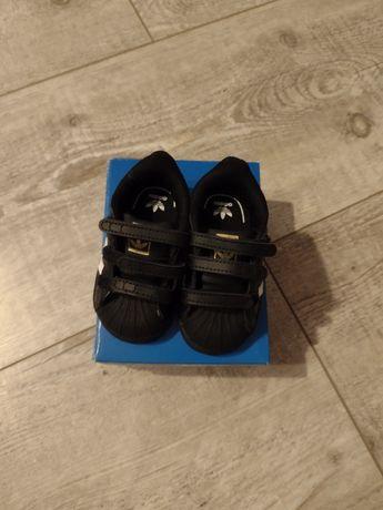 Nowe buty Adidas Superstar rozmiar 19. Zalando