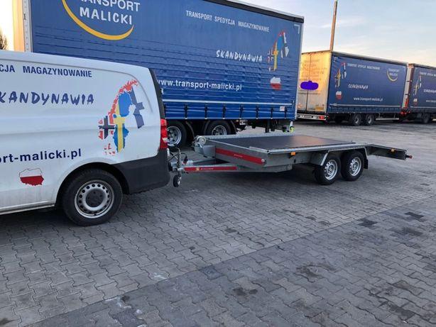 Wynajem Autolawet Wypożyczalnia lawet przyczep Poznań DMC 2500kg