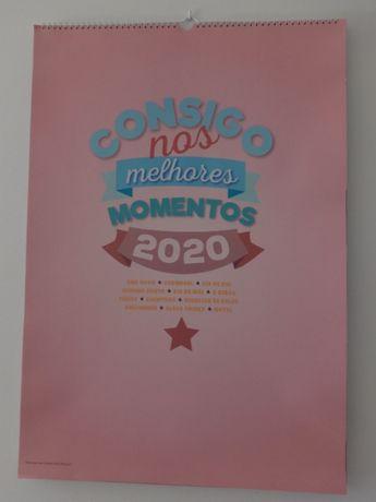Calendário grande formato 2020
