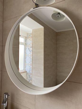 Espelho ikea redondo branco