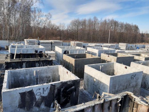 szamba zbiorniki betonowe 10m3 wysoka jakość atest wodoszczelne