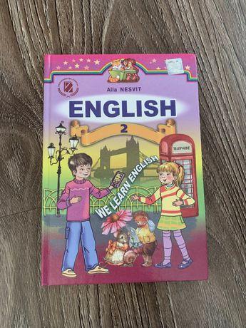 Підручник Алла Несвіт «Англійська мова» / Alla Nesvit, English 2 клас