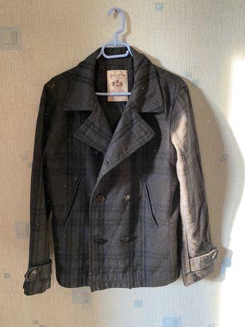 Кашемировое пальто косуха (не bershka pull&bear