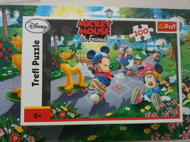 Puzzle Myszka Miki i przyjaciele 100 elementow