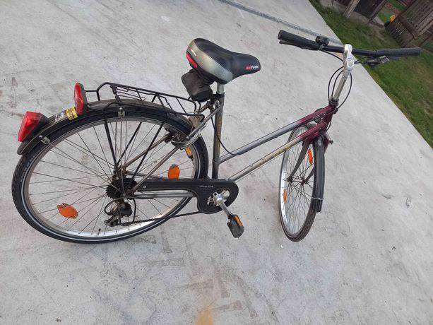 Rower Damka z Niemiec biegi kompletny