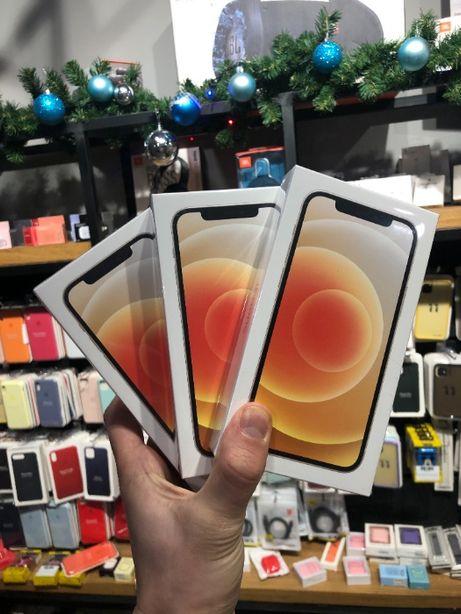iPhone 12 64gb/128Gb Новые 12 мес Гарантия от Магазина Запечатанные