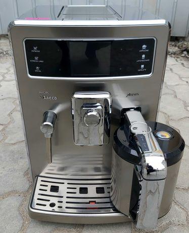 Кофемашина кофеварка Саеко Philips Saeco Xelsis HD8944 термо стакан