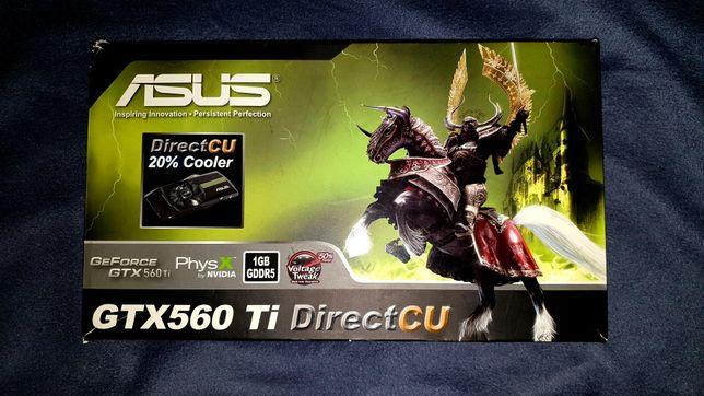 Видеокарта Asus GTX 560 TI, 1GB
