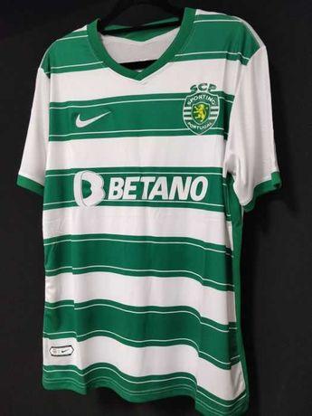 Camisola Principal do Sporting 2021/2022