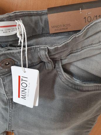 Spodnie dzinsowe szare rurki