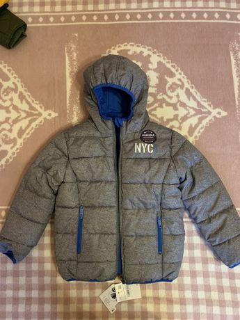 Новая двусторонняя куртка C&A, 128