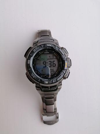 Продам Casio prg 240 t,prw,protrek,титановые трекинг часы