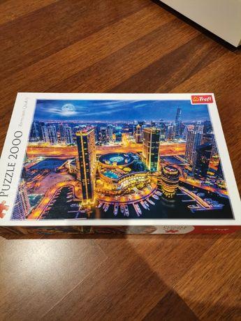 Puzzle Trefl 2000 Światła Dubaju