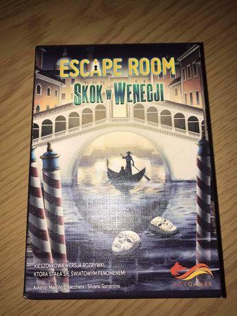 Escape room skok w Wenecji