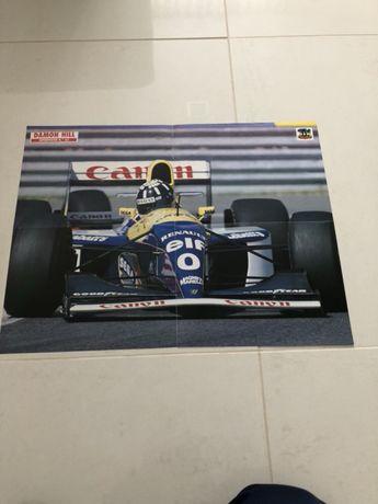 Poster Damon Hill Formula 1