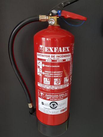 Extintor de pó químico 6kg