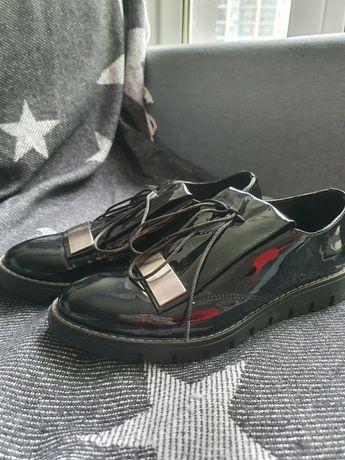 Шкіряне взуття, лофери, 36 розмір