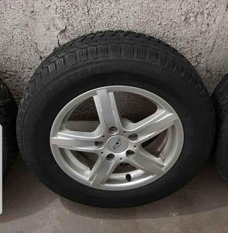 Felgi aluminiowe z oponami 5x114.3 Hyundai Kia Honda Mazda R15/195/65
