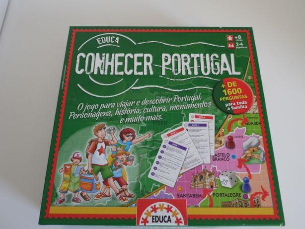 Conhecer Portugal (EDUCA) - Jogo de Tabuleiro