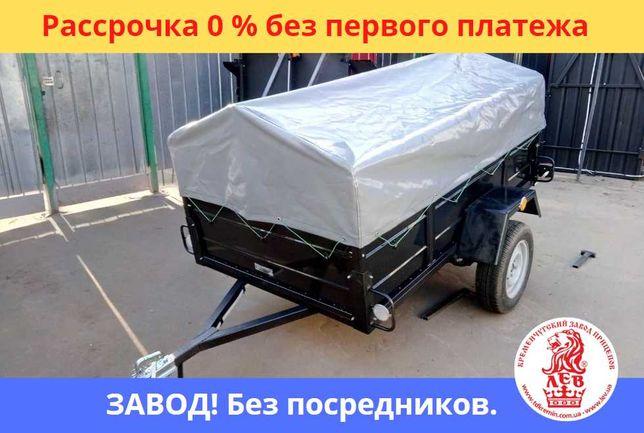 КОВОЙ ПРИЦЕП ПРИЧІП НОВЫЙ с завода в рассрочку без%.