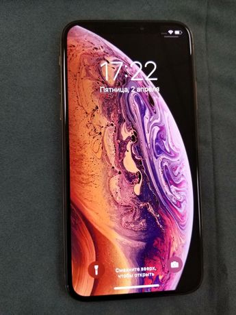 iPhone XS 256GB gold NEW