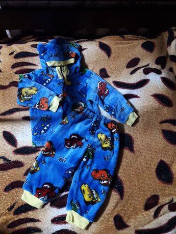 Пижама детская плюшевая