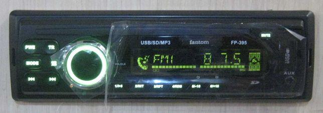 Автомагнитола Fantom FP-395 (мультиколор) (новая, магазин)