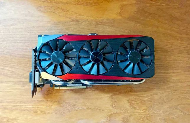 Asus PCI-Ex GeForce GTX 980 Ti Strix 6GB GDDR5 (384bit) (1190/7200)