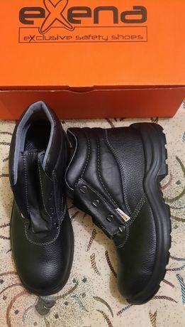 Продаю новые мужские рабочие ботинки  Exena
