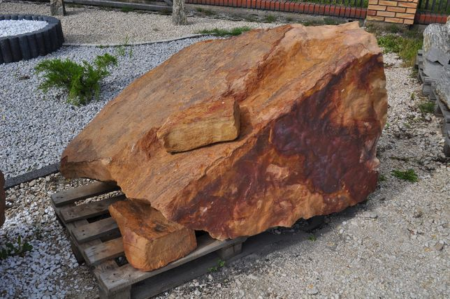 Piaskowiec Kamień Głaz