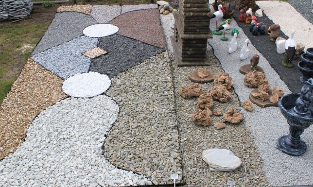 Kamień ozdobny, ogrodowy, grys