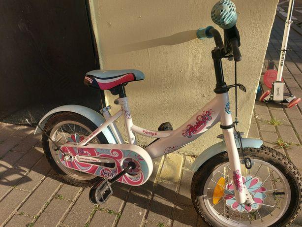 Rower dla dziewczynki 3-5 lat