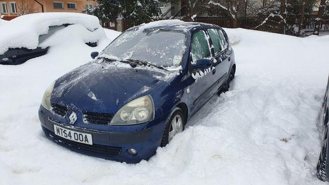 Renault Clio 1.5dci LIFT 2004r. Anglik V5c