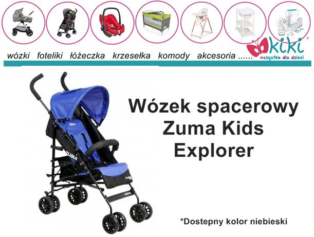 Wózek spacerowy Zuma Kids Explorer (parasolka)