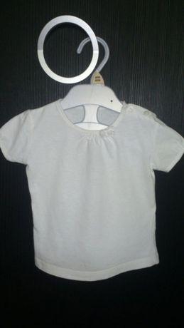 Bluzeczka C&A z krótkim rękawkiem rozm. 74