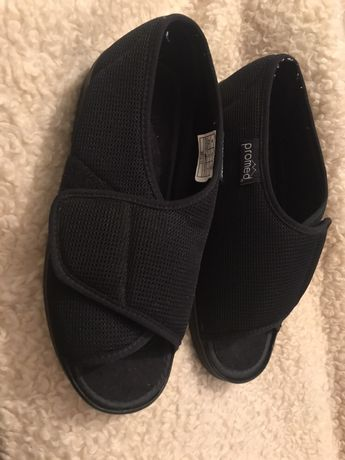 Buty czarne na zepsch