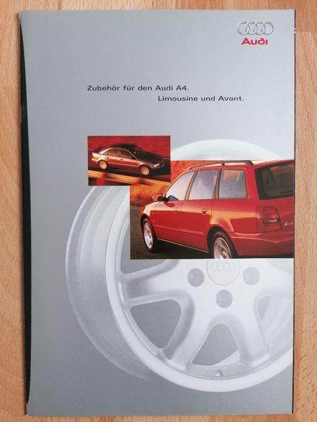 Prospekt Audi A4 B5 Zubehor-Dodatki