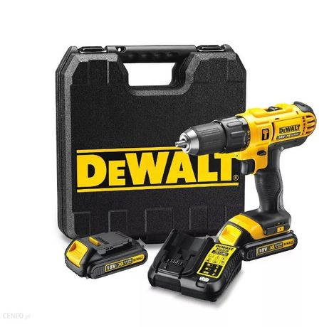 DEWALT Wiertarko-wkrętarka akumulatorowa udarowa 18 V (DCD776C2)