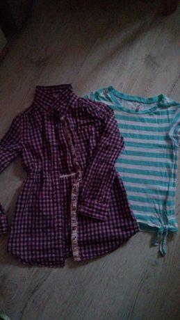 Koszula plus koszulka r 122 128