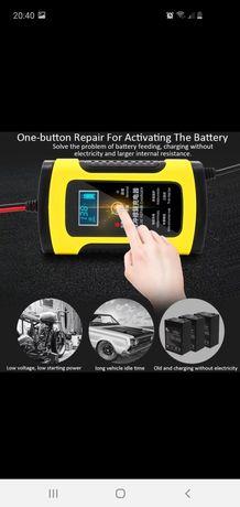 Carregador bateria carro/moto