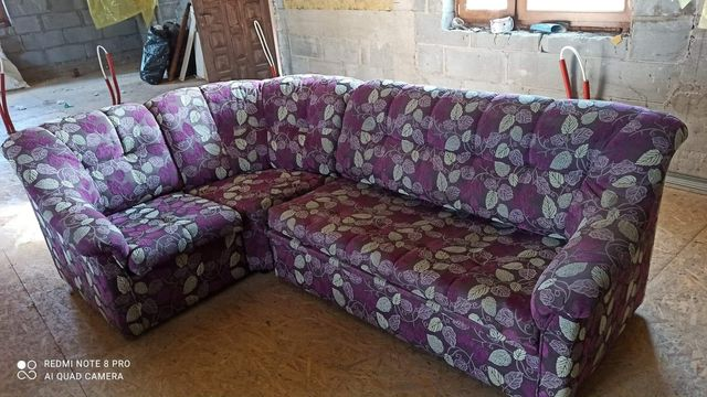 Narożnik +2 fotele komplet sprzedam pilnie