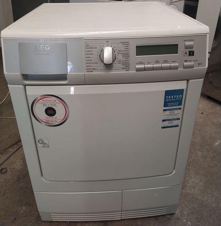 Entrega garantia máquina de secar roupa AEG bomba de calor
