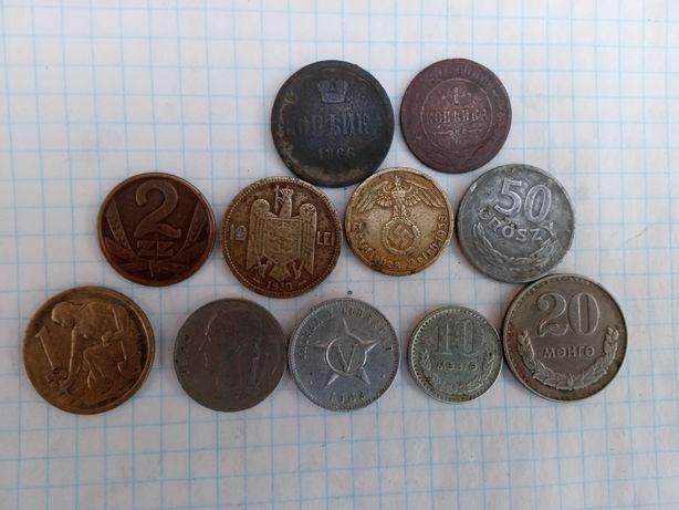 Продам разные монеты